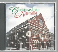Christmas From Nashville CD 2002 Lorrie Morgan Eddy Arnold Oak Ridge Boys