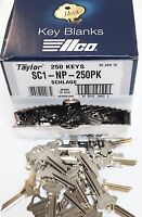 Taylor SC1 Nickel Key Blanks