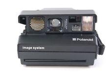 VINTAGE CAMERA POLAROID IMAGE SYSTEM BLACK tested ref.411167