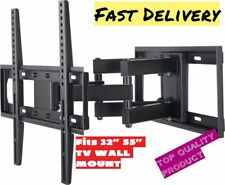 Full Motion Articulating TV Wall Mount LED LCD Plasma 32 37 42 47 48 50 55 Inch