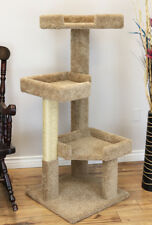 """New listing Premier 51"""" Solid Wood Large Cat Tree - Free Shipping In The U.S."""