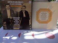 BEETHOVEN: Complete violin & piano sonatas > Grumiaux Haskil / Philips 6733001