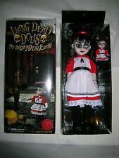 """new Living Dead Dolls Alice in Wonderland 13"""" big & mini Sadie as Alice 2-pack"""