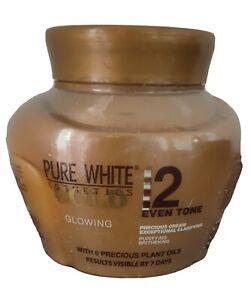 PURE WHITE GOLD CRÈME ECLAIRCISSANTE PURIFIANTE AUX 6 HUILES PRÉCIEUSES 250 ml