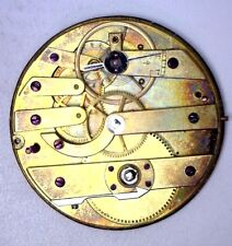 As Is See Below #O333 Antique Victorian Large Pocket Watch Movement