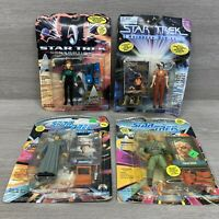 Star Trek Next Generation Action Figure Lot Troi, Dathon, Beverly Crusher, Data