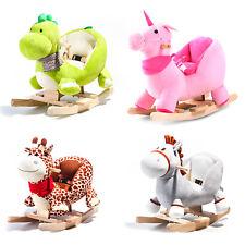 !!SALE!! Schaukelpferd Plüsch Schaukelspielzeig Schaukeltier Geschenk für Kinde