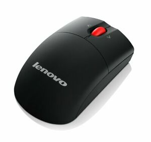 New Lenovo Laser Wireless Mouse USB receiver Perfect For Computer Laptop Office