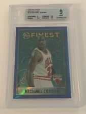 Michael Jordan 1995-96 Topps Finest Refractor #229 BGS 9 Mint