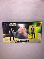 Boxed (Loose, 100% Complete) 1997 Kenner Star Wars Jabba the Hutt with Han Solo