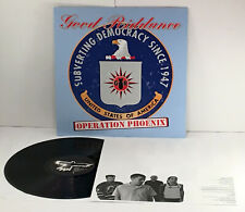 GOOD RIDDANCE operation phoenix LP Vinyl Record w/ lyrics insert, fat wreck PUNK