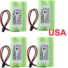 4× 1400mAh 2.4v Home Use Cordless Phone Battery For Uniden BT-1007 BT1007 BT1015