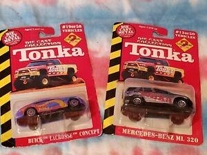 Tonka Die Cars Set of 2 Original Packaging Mercedes Buick