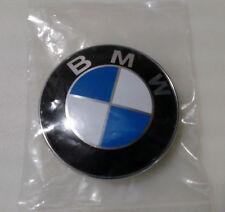 BMW EMBLEM LOGO ROUND FRONT HOOD BADGE SIGN 82mm 2 PIN 51.14 8132375
