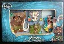 Disney Moana Limited Edition (of 1000!!) Pin Set - AMAZING MOVIE, GREAT GIFT NWB