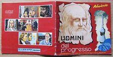 ALBUM FIGURINE - UOMINI DEL PROGRESSO - Ed. Album dell'Arte, 1968 - VUOTO (+23)*