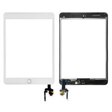 White For Apple iPad Mini 3 3rd Touch Screen LCD Digitizer Glass +IC Home Button
