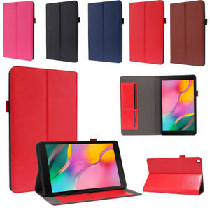 Case For Galaxy Tab A7 Lite 8.7 SM-T220 T225 Folio Leather Cover w/ Card Slots