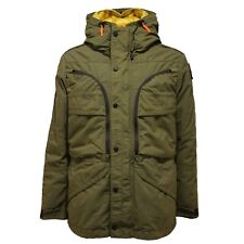 2809AC giubbotto uomo PARAJUMPERS TOP NOTCH 3 IN 1 green/yellow jacket men