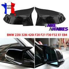 Coques de rétroviseur noir brillant M2 M4 BMW Série 1 LCI F20 F21 125i M135i