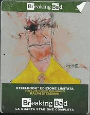 Breaking Bad - Stagione 4 - Limited Edition SteelBook - Cof. 3 Blu Ray - Nuovo