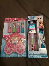 Crest & Oral B Pro Health Jr Frozen Power Toothbrush Olaf + Disney Princess Set