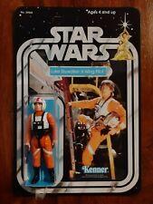 Vintage Star Wars Figure Luke Skywalker X - Wing Pilot 1978  21 Back