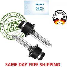 OEM Philips 85122 New x2 D2S 4300K HID Xenon Headlight BULBS Lamps Super Bright