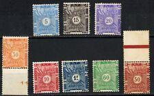 1915 - - Cote  Des Somalis - -  Neuf - Rouille - - Trace  - - Taxe - - Yt.1/8