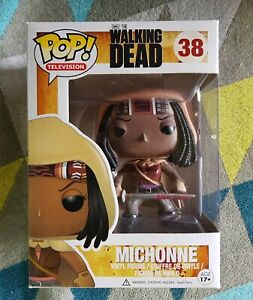 Michonne 38 - The Walking Dead - Funko Pop! Vinyl - 2015 - Vaulted + Protector