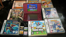 NINTENDO DSI XL CONSOLE WITH GAMES BUNDLE MARIO BROS SONIC DORA TOY STORY ++++++