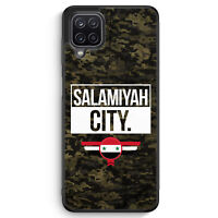 Salamiyah City Camouflage Syrien Silikon Hülle für Samsung Galaxy A12 Motiv D...