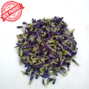 Blue Butterfly Pea Tea Natural Organic Dried Flowers-Té de guisantes de mariposa