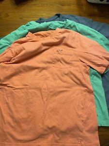 Greg Norman Pocket Shirt Size M Lot of 3