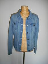 *QS by s.Oliver* Jeansjacke Gr.L *Used-Look*Wash Out* Baumwollmischung*neuwertig