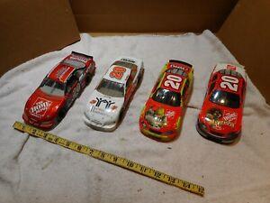 LOT OF 4 Tony Stewart #20  2002,2004,2005 NASCAR Action RCCA 1:24 DieCast