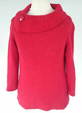 Cotton Blend Polo Neck Petite Jumpers & Cardigans for Women