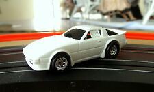 Tyco 440x2 Mazda RX7 Unpainted w/Cust Rims,R/Jel-Claws & Magic Magnets (NOS)