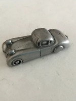 "Pewter Miniature Rolls Royce Vintage Car, 1 1/2"" Long x 1/2"" Tall"