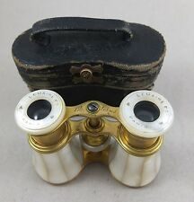 antik Opernglas Fernglas binocular opera Lemaire Paris Perlmutt Art Deco