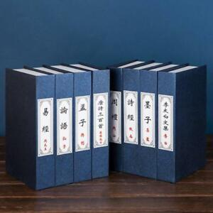 Retro Books Decor Display Simulation Fake Book Housing Office Book Box Prop 4pcs