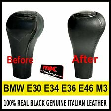 BMW E30 E34 E36 E46 M3 GENUINE LEATHER GEAR KNOB