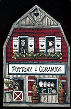 Brandywine Collectible Houses & Shops: POTTERY & CERAMICS Barn Shop Shelf Sitter