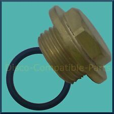 Land Rover Defender 200 / 300 TDi Brass Radiator Filler Plug + O'ring