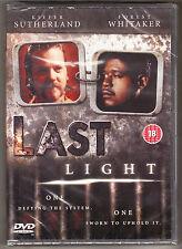 LAST LIGHT - KIEFER SUTHERLAND, FOREST WHITAKER - CERT 18  - NEW & SEALED R2 DVD