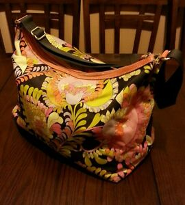 KATE SPADE New York Fabric/Canvas/Leather Floral Multi Color Cross Body Bag