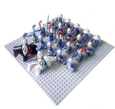 24 Pcs Minifigures DRAGOON Green Blue Lion Knight Roman Cavalry Warrior Lego MOC