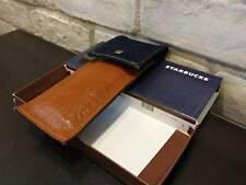 Starbucks  Pen Bag Blue Jean Leather denim  Thailand New