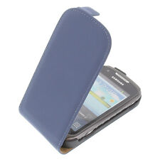 Case for Samsung Galaxy Xcover 2 S7710 Flipstyle Gadget Cases Blue