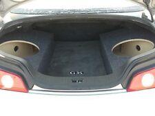 "For Infiniti G35 Coupe - Custom Sub Box Subwoofer Speaker Enclosure - (2 12"")"